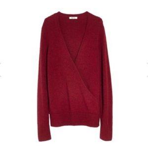 NWOT Madewell Surplice Sweater